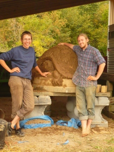 Turtle Earth Oven at Kensington Metropark Farm