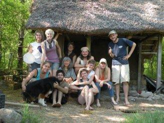Kids Cottage Volunteer Team for the day.